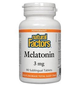 Natural Factors Melatonin 3mg Subling Tab 90