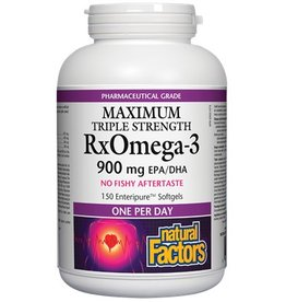 Natural Factors RxOmega3 Factors One A Day 150