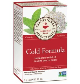 Traditional Medicinals Cold Formula 16 Tea Bags