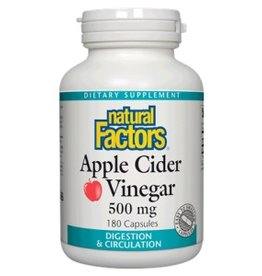 Natural Factors Cider Vinegar 500MG Cap 90