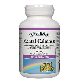 Natural Factors S.R Mental Calmness Tab 60