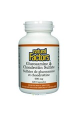 Natural Factors Glucosamine and Chondroitin Sulfate 900mg 120 caps