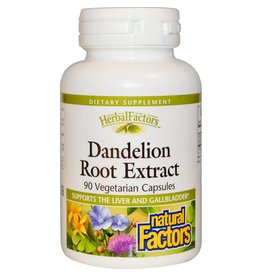 Natural Factors Dandelion Root 125MG VCap 90