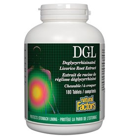 Natural Factors DGL 400mg 180 chews