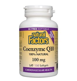 Natural Factors BB Coenzyme CoQ10 100mg SG 150