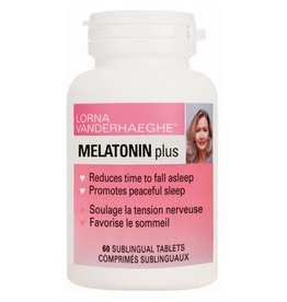 Lorna Vanderhaegue Melatonin Plus 60 sublingual tablets