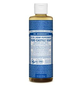Dr. Bronners Pure Castille Soap Peppermint 237ml