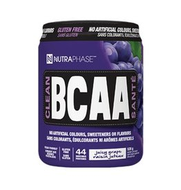 Nutraphase Clean BCAA's Juicy Grape 44 servings