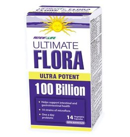 Renew Life ultimate flora 100 billion 14's