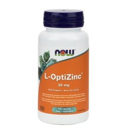 NOW L-Optizinc 30mg 100caps