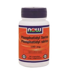 NOW Phosphotidyl Serine 100mg 60 caps