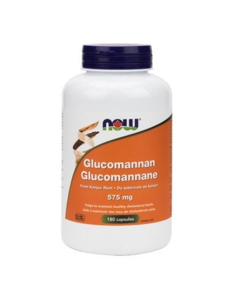 NOW Glucomannan 575mg 180caps