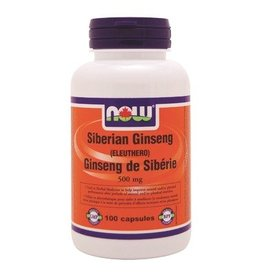 NOW Siberian Ginseng 500mg 100caps