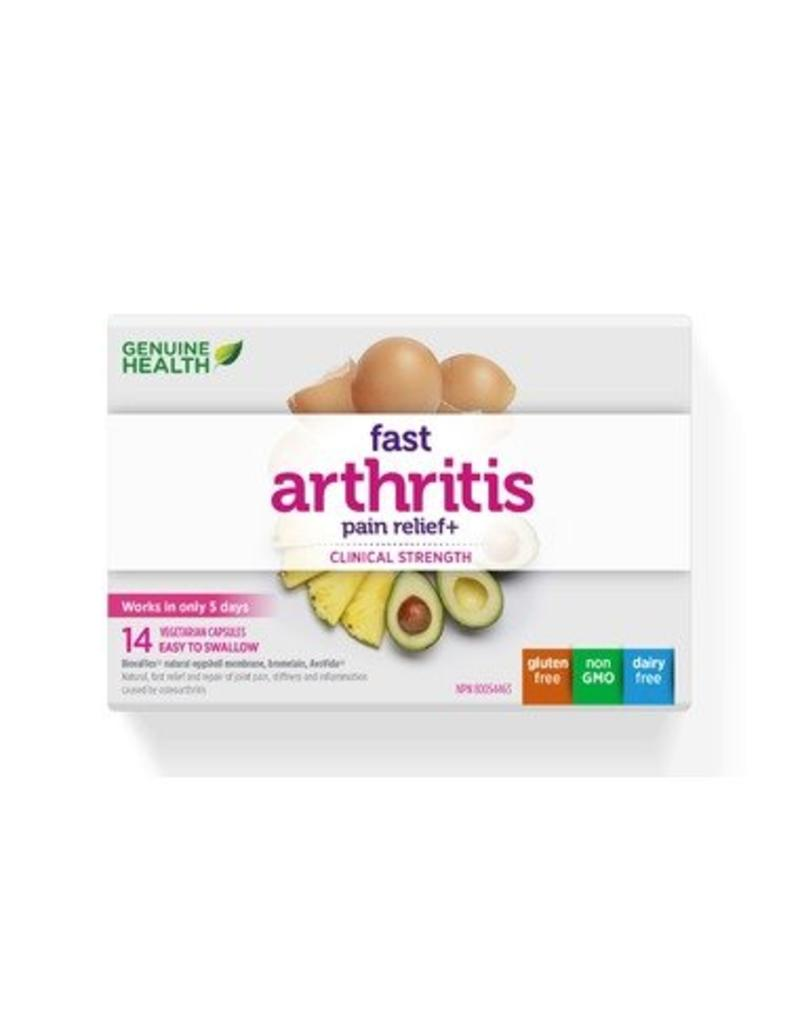 Genuine Health Fast Arthritis Pain Relief 14 caps