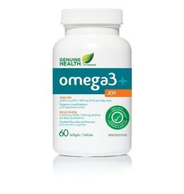 Genuine Health Omega 3 Joy 60 softgels