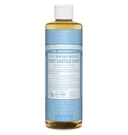 Dr. Bronners Pure Castile Soap Unscented 237ml