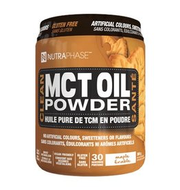 Nutraphase MCT Oil Powder Maple 44 servings