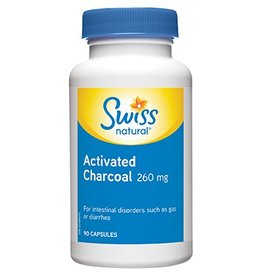 Swiss Naturals Activated Charcoal 260mg 90 caps