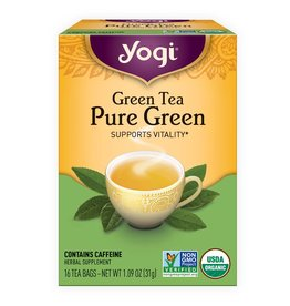 Pure Green Tea 16 tea bags