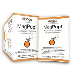 Orange Naturals Mag Pop Effervescent Drink Mix