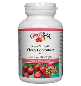 Natural Factors CherryRich  500mg 90 softgels