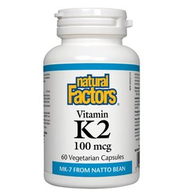 Natural Factors K2 100mcg 60 caps