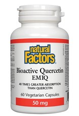 Natural Factors Bioactive Quercetin EMIQ 60caps