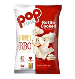 Pop Time Kettle Corn Popcorn Honey BBQ 198g