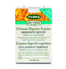 Flora Immediate Relief Enzymes 21caps