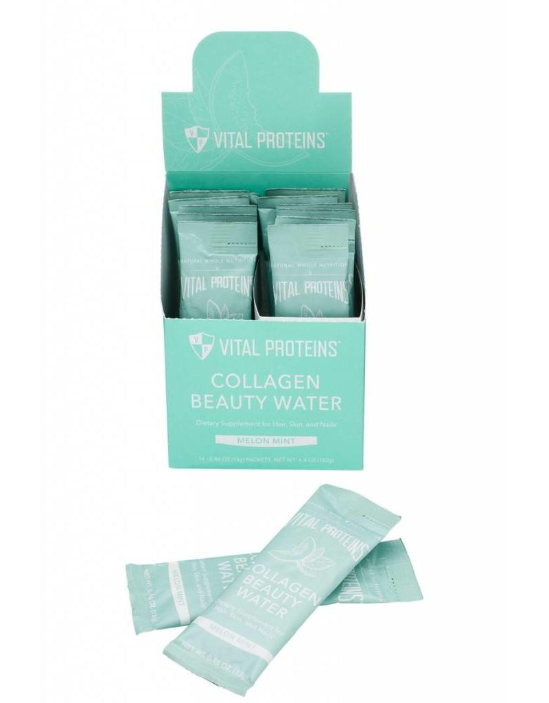 Vital Proteins Collagen Beauty Water- Melon Mint 14 packets