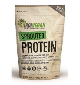 Iron Vegan Sprouted Protein Vanilla 500g