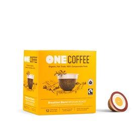 One Coffee Breakfast Blend Coffee Medium Roast 12 Pods