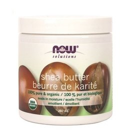 NOW Shea Butter 100% Organic 207ml