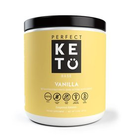 Perfect Keto Exogenous Ketones Vanilla 233g
