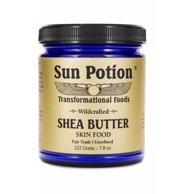 Sun Potion Shea Butter Skin Food Fair Trade 222g
