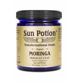 Sun Potion Moringa Raw Leaf Powder- 90g