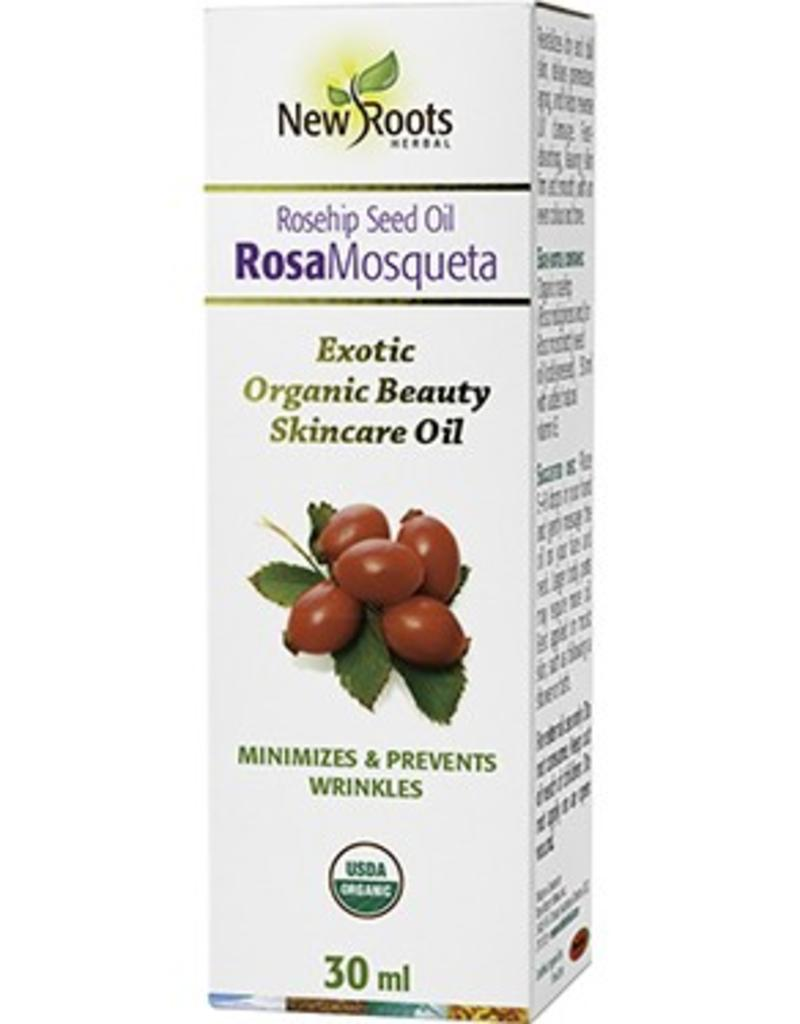 New Roots Rose Hip Seed Oil Organic 30ml