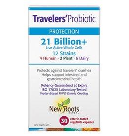 New Roots Traveler's Probotic 21 Billion+ 30 caps