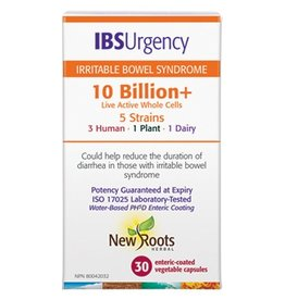 New Roots IBS Urgency Probiotic 10 Billion 30 caps