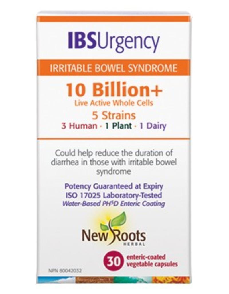 New Roots IBS Urgency Probiotic 10 Billion 30 caps
