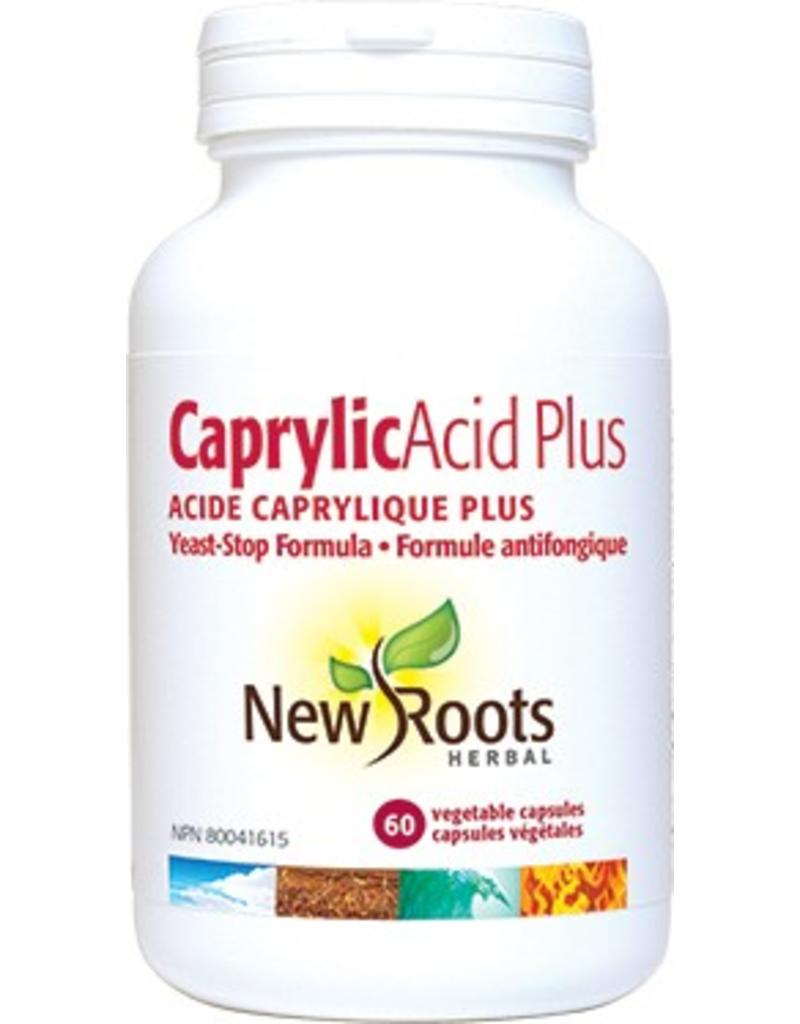 New Roots Caprylic Acid Plus- Yeast Stop Formula 60caps
