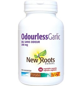 New Roots Odourless Garlic 200mg 90caps