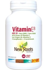 New Roots Vitamin E8 400IU 60 softgels