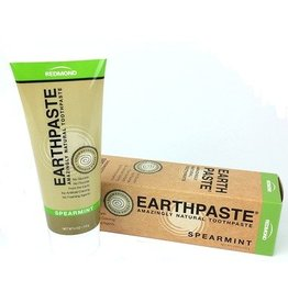 Redmond Earthpaste Natural Toothpaste- Unsweetened Spearmint 4oz