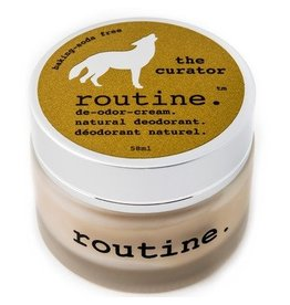 Routine Natural Deodorant- The Curator Baking Soda Free 58g
