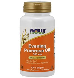 NOW Evening Primrose Oil 500mg 100 softgels