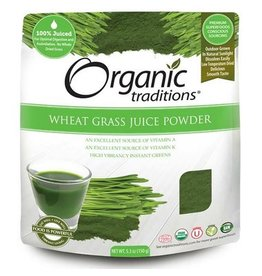 Organic Traditions Wheat Grass Juice Powder Organic 150g