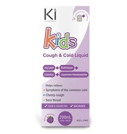 Ki Kids Cough and Cold Liquid- Berry 200ml