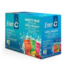 Ener-C Vitamin C 1000mg- Variety Pack 30 packets