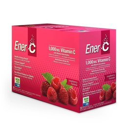 Ener-C Vitamin C 1000mg- Raspberry 30 packets
